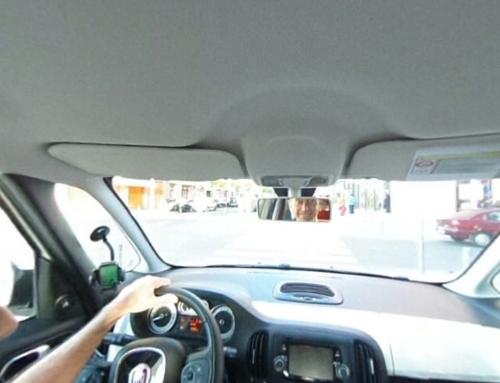 Interior de un Fiat500L
