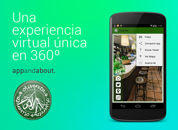 Olivereta 360 - Tarjeta de visita 360
