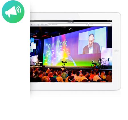 Retransmisión de eventos con imágenes 360º en directo