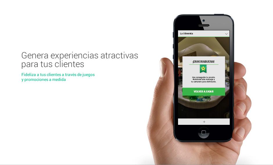 Genera experiencias atractivas para tus clientes a través de juegos y promociones personalizadas