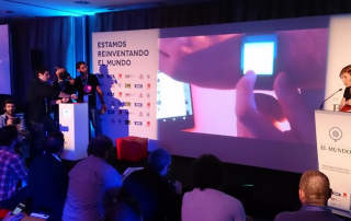 presentacion de la app de appandabout en el mundo