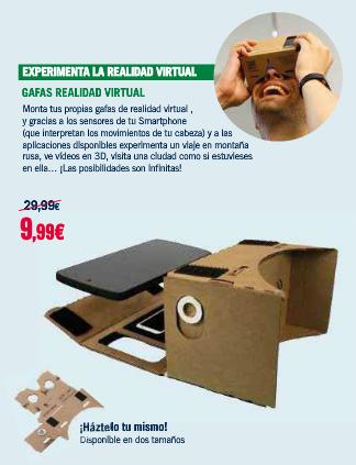En España ya venden las cardboard en thephonehouse por 9,99 euros