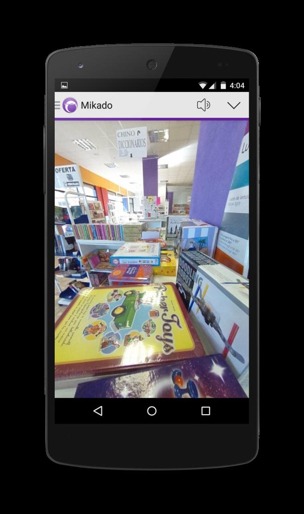 app librería mikado elche